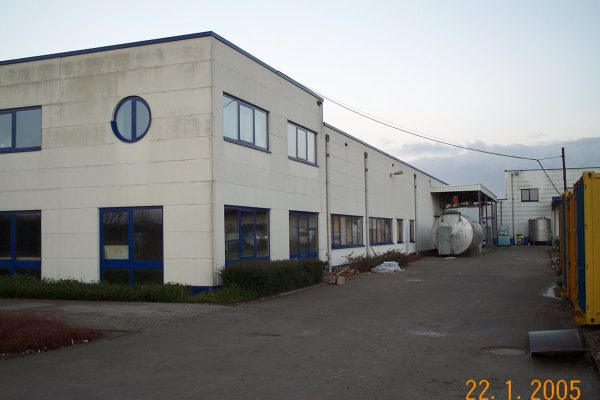Abbruch Fabrik Kleve